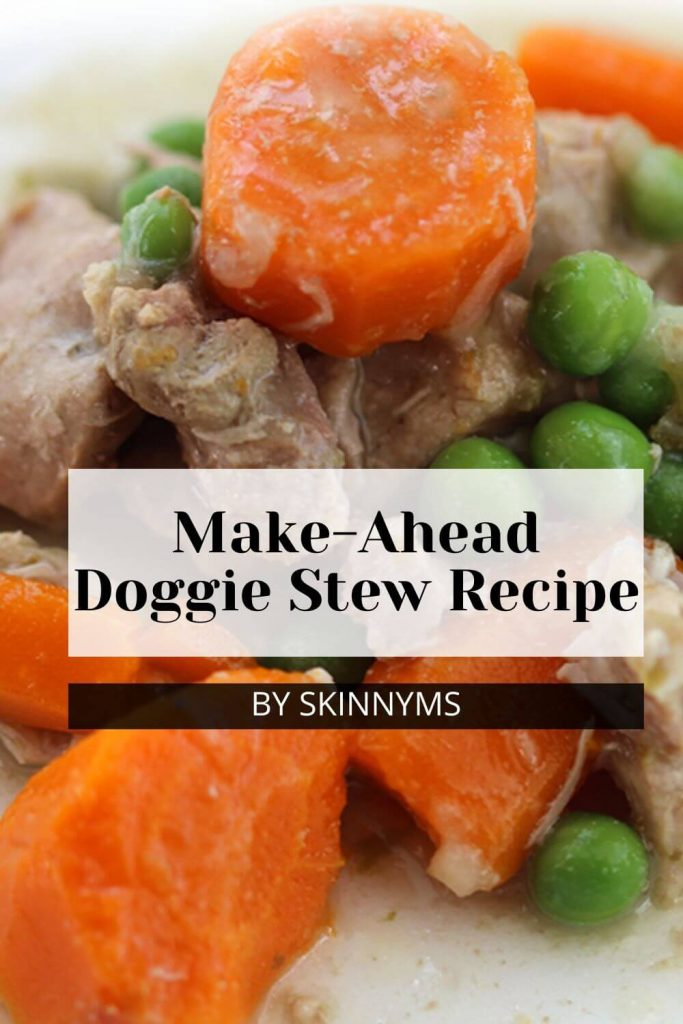 Make-Ahead Doggie Stew Recipe