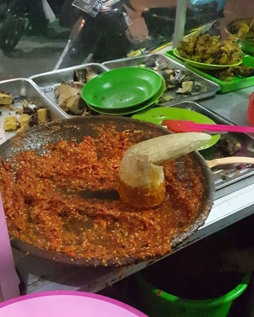 makanan enak Surabaya sego sambel
