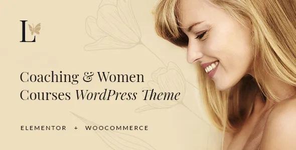 Best Coaching & Women Courses WordPress Theme