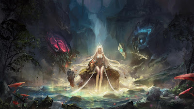 Papel de parede grátis de jogos games hd : Janna League Of Legends