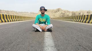 Full of diversify landscapes makran coastal highway