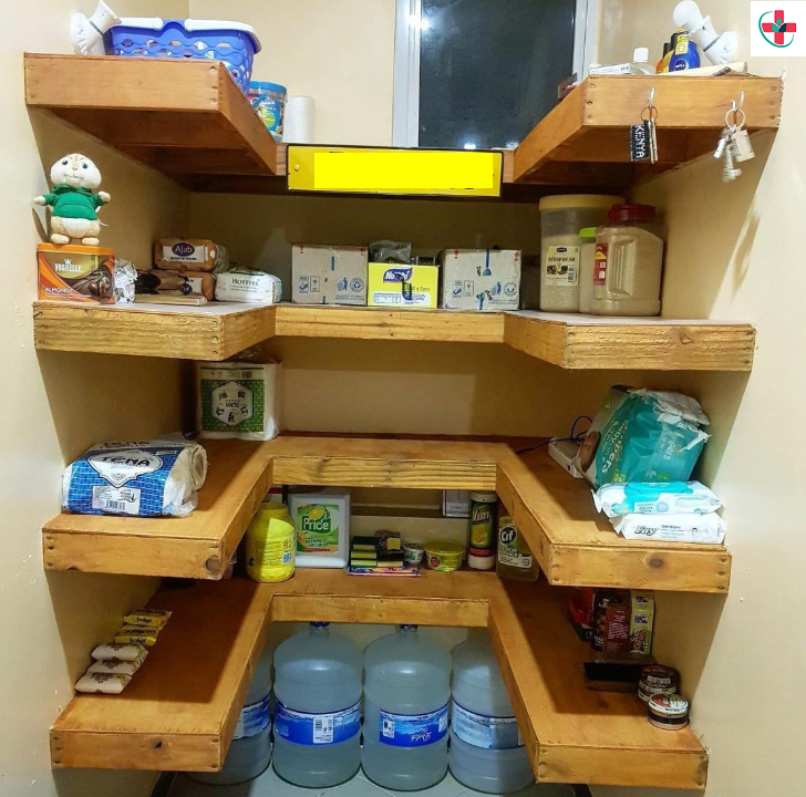 STEPS TO ORGANIZING YOUR PANTRY