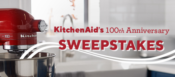 QVC is celebrating KitchenAid's ONE HUNDREDTH Anniversary by giving away a COMPLETE KitchenAid appliance suite worth nearly $5000 and more!