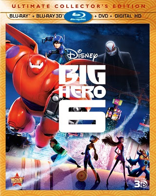 Poster Of Big Hero 6 In Dual Audio Hindi English 300MB Compressed Small Size Pc Movie Free Download Only At worldfree4u.com