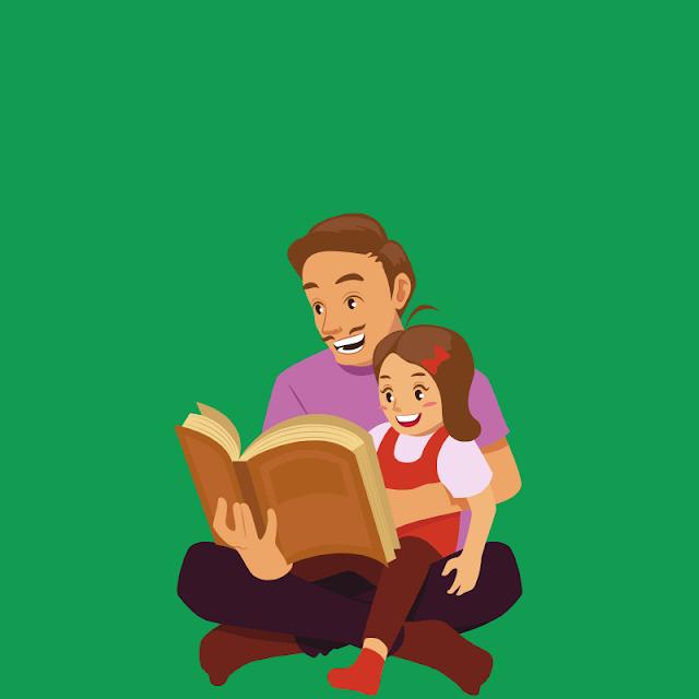 Gambar Kartun Anak Belajar di Rumah (10)