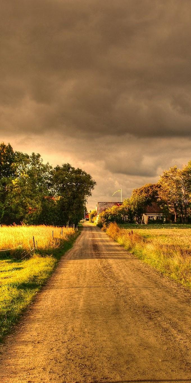 Papel de Parede Caminho para Casa