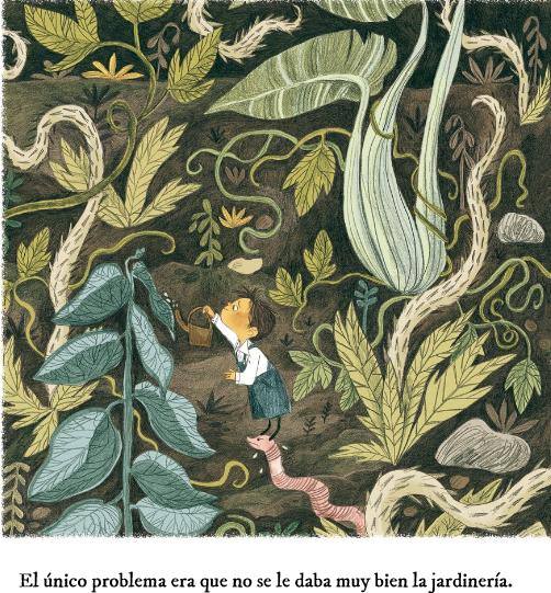 El peque o jardinero apego literatura y materiales for Se necesita jardinero