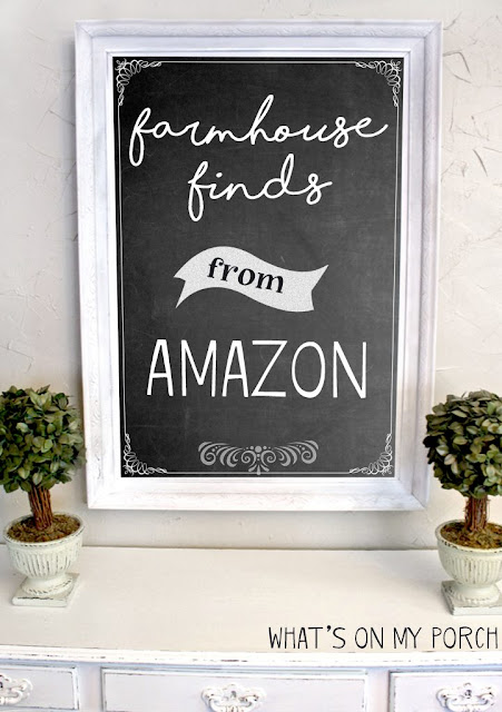 Farmhouse products you can find on Amazon!