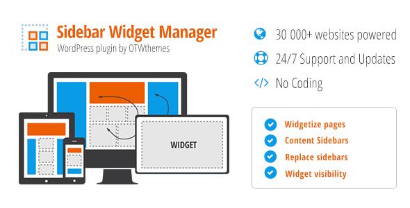 Download Sidebar & Widget Manager v4.0