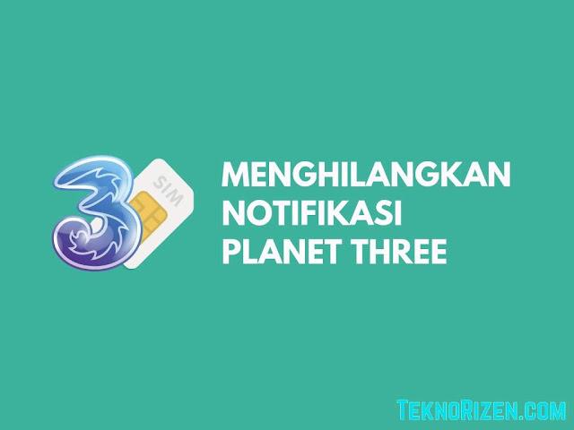 Cara Menghilangkan Notifikasi Planet 3 di HP