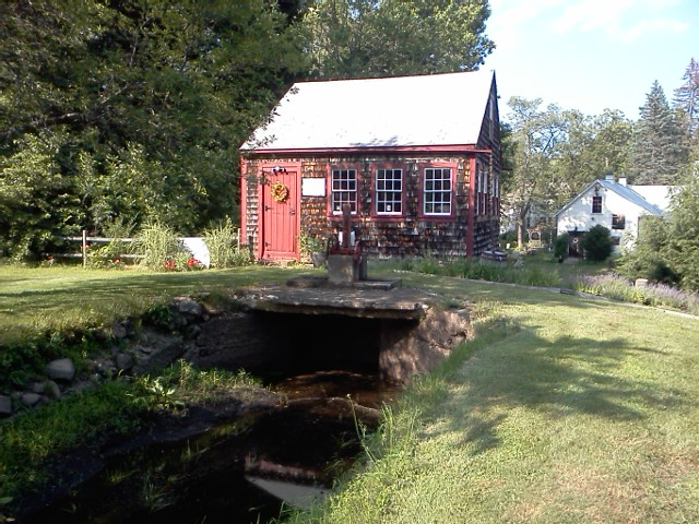 Fulling Mill, circa 1638, Rowley, Massachusetts