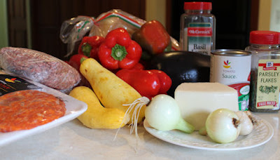 Spicy Stuffed Pepper Ingredients