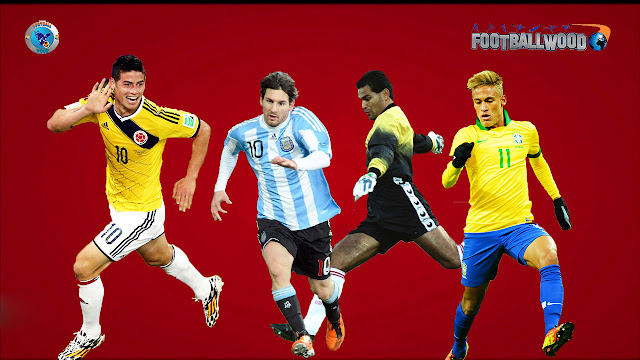 Copa America 2015 HD Wallpapers, Players Photos