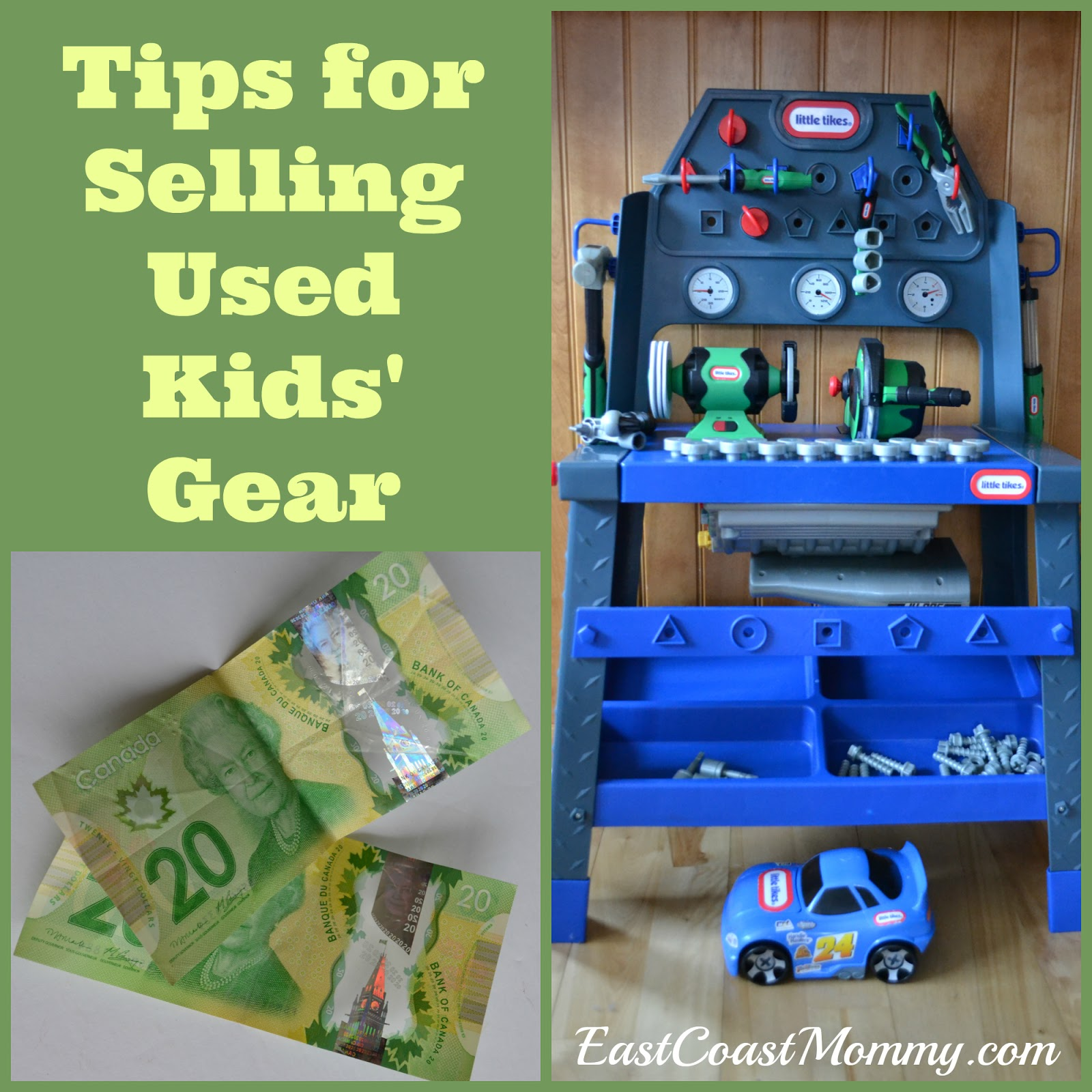 East Coast Mommy 5 Tips for Selling Kids Gear and making money