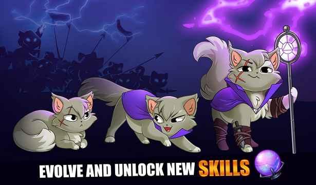 KERAKURUS - Castle Cats MOD APK Unlimited Gold Gems 1.7.2