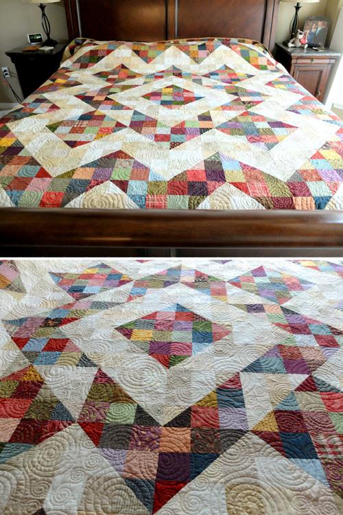 Split 9 Patch Quilt Pattern