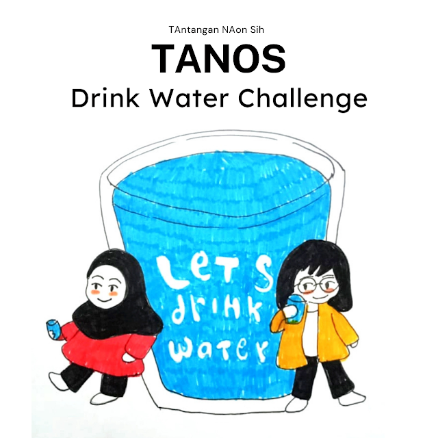 menjaga asupan air