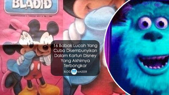 16 Babak Lucah Yang Cuba Disembunyikan Dalam Kartun Disney Yang Akhirnya Terbongkar