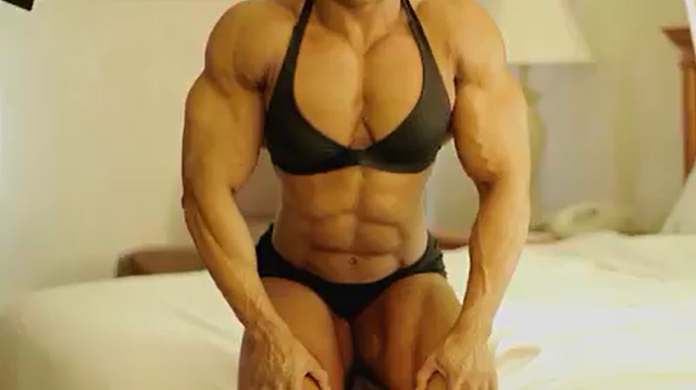 Clip Female bodybuilding Awesome Female Biceps
