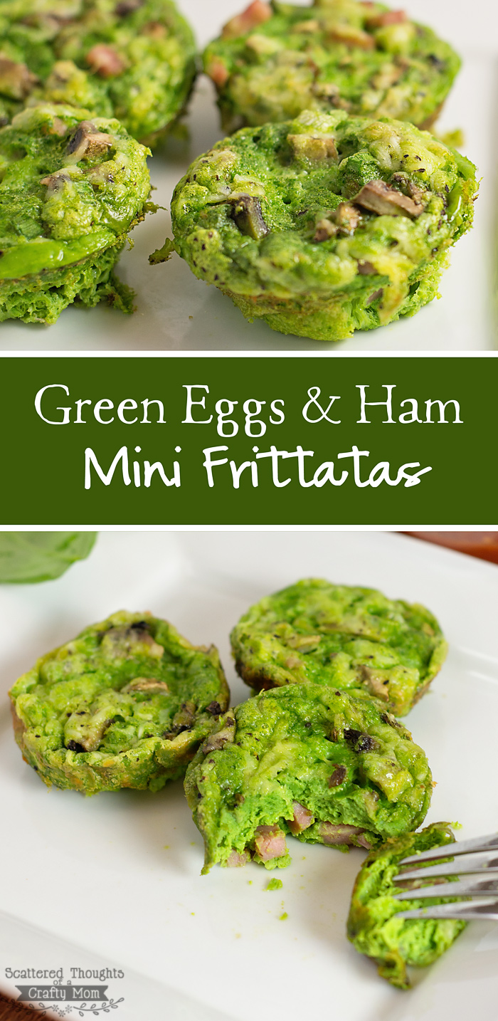 Green Eggs And Ham Mini Frittatas Scattered Thoughts Of