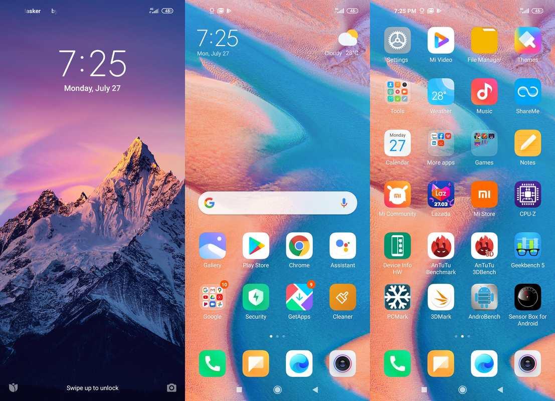 Antarmuka & Fitur Xiaomi Redmi Note 9