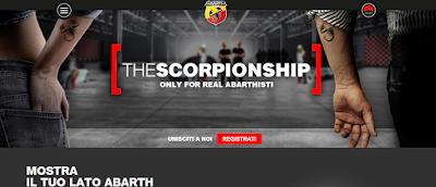 """Ψηφιακή παρουσία: """"The Scorpionship"""", η μόνη επίσημη κοινότητα της Abarth"""