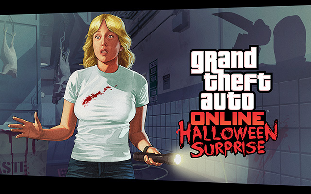 The GTA Halloween event features online killing, disorder, and free t-shirts