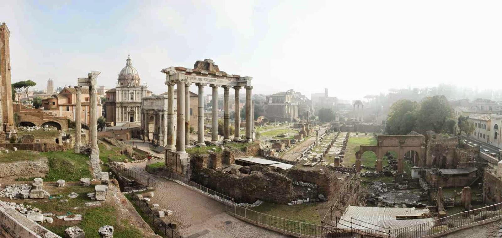 Principio de publicidad y Roma