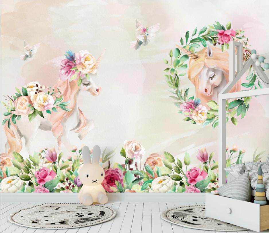 Tranh Hoa 3D Trang Trí Quán Đẹp