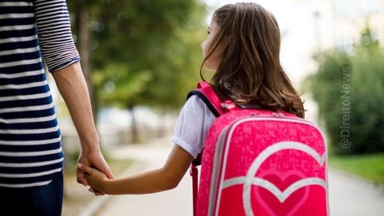 decisao pais matricular filha escola regular