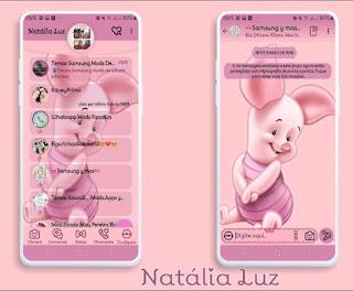 Pig Baby Theme For YOWhatsApp & Fouad WhatsApp By Natalia Luz