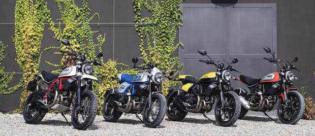 Ducati Scrambler Cafe Racer ambience-gama