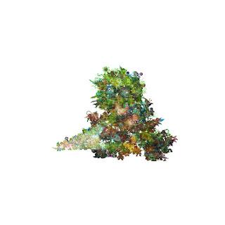 Green tree creature