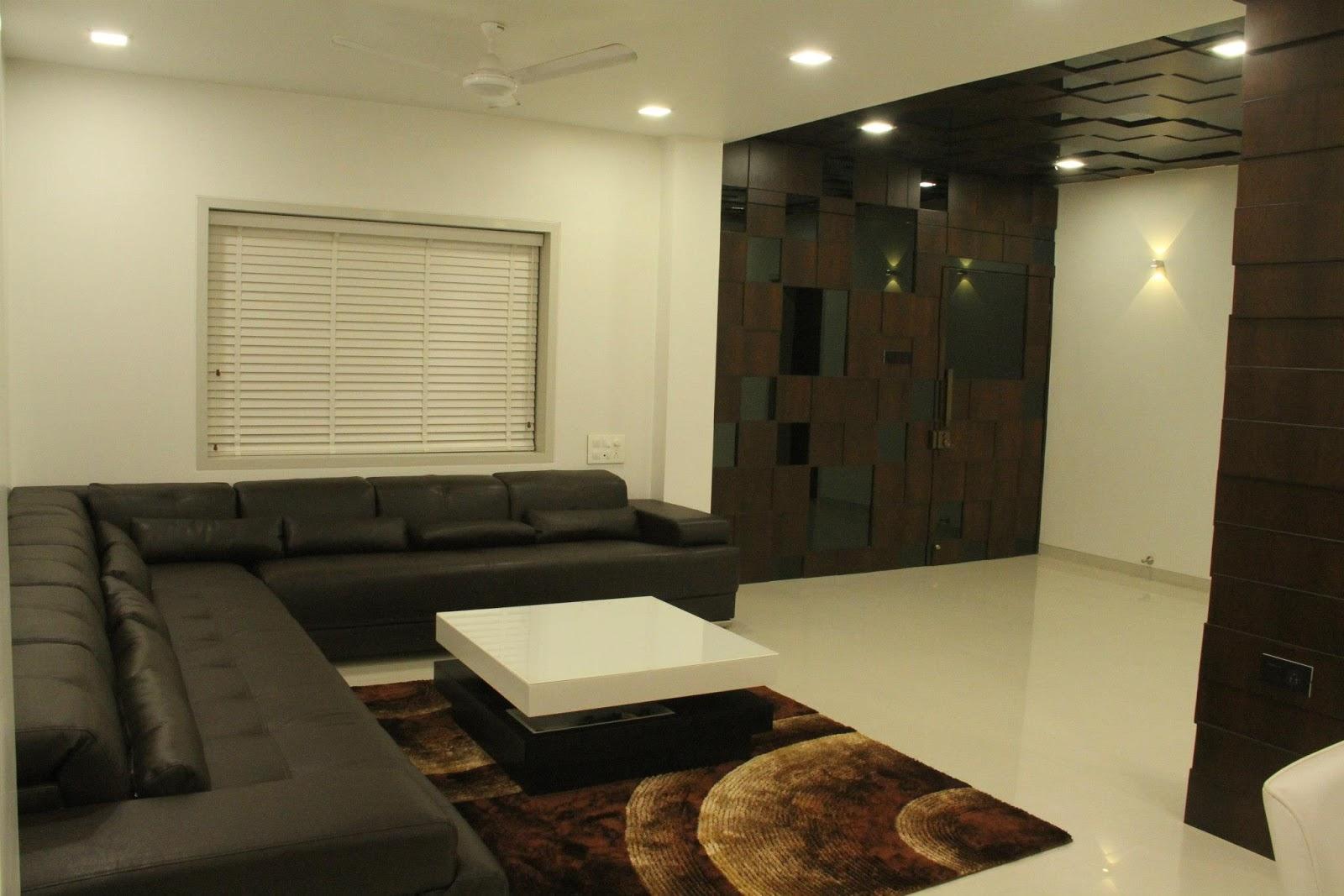 Home decor modern flat interior decoration the details for Modern flat interior