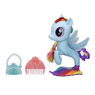 My Little Pony Glitter & Style Seapony Rainbow Dash Brushable Pony
