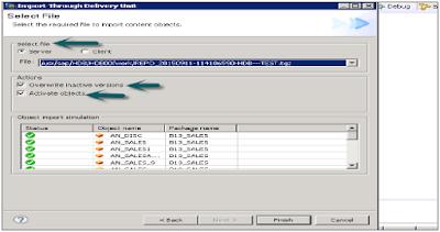 SAP HANA Export & Import