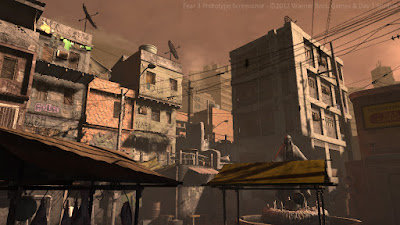 Favela Courtyard Art Test