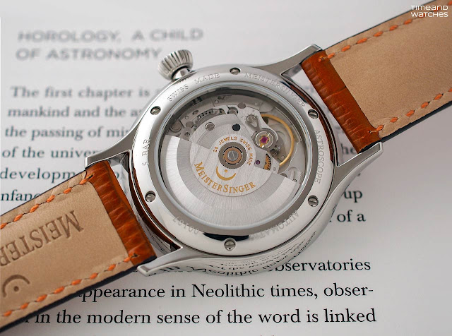 MeisterSinger Astroscope, the movement
