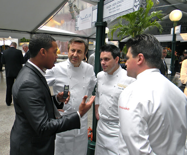 Isaiah Kelsey, interview, chefs, Daniel Bouloud, chatting fabulously