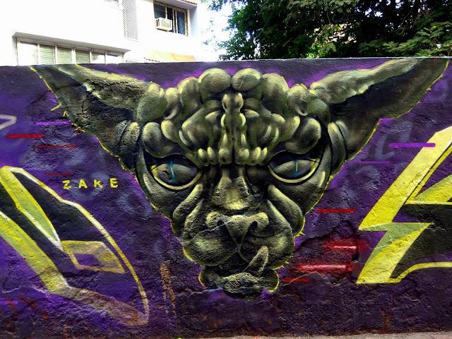 mural, colourful, street art, painting, nagrana lane, bandra, mumbai, incredible india,
