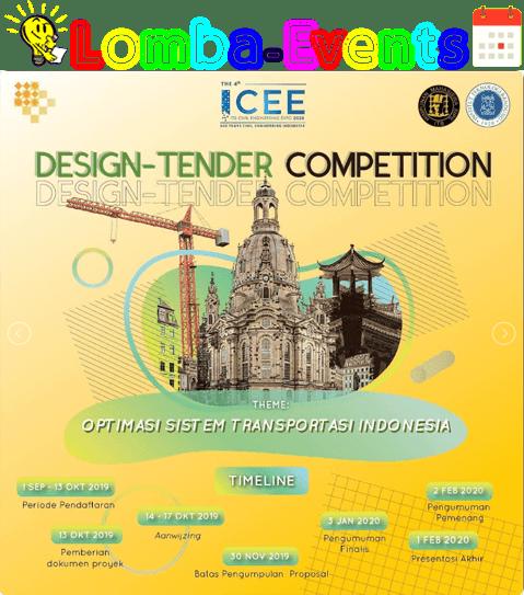 Lomba Analisis Desain Tender Nasional ICEE ITB 2019 Mahasiswa