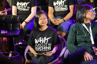 Marina, salah satu founder What About Kuching Festival