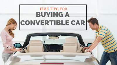 5 Tips for Buying a Convertible Car