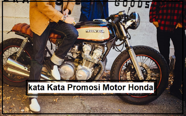 promosi motor honda