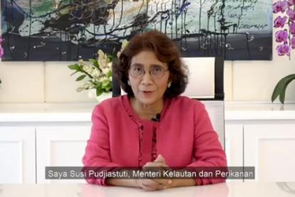 Menteri Susi Masuk Daftar Global Thinkers Berkat Sikat Kapal Pencuri Ikan