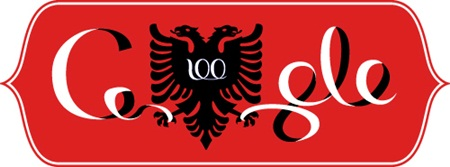 Albania Independence Day Doodle