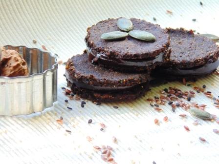 biscuiti raw cu amaranth
