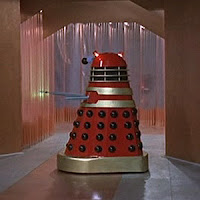 Dr Who & the Daleks Red Dalek 03