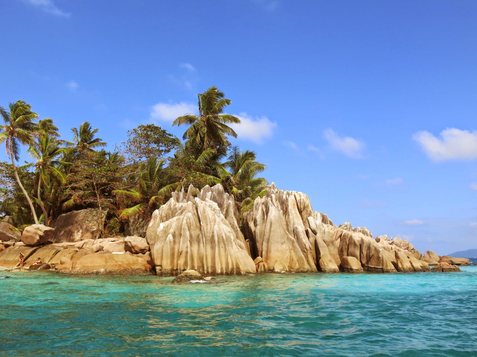 St Pierre Islet på Seychellerna