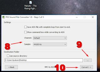 Cara Merubah Lagu Ke Format ADX 4